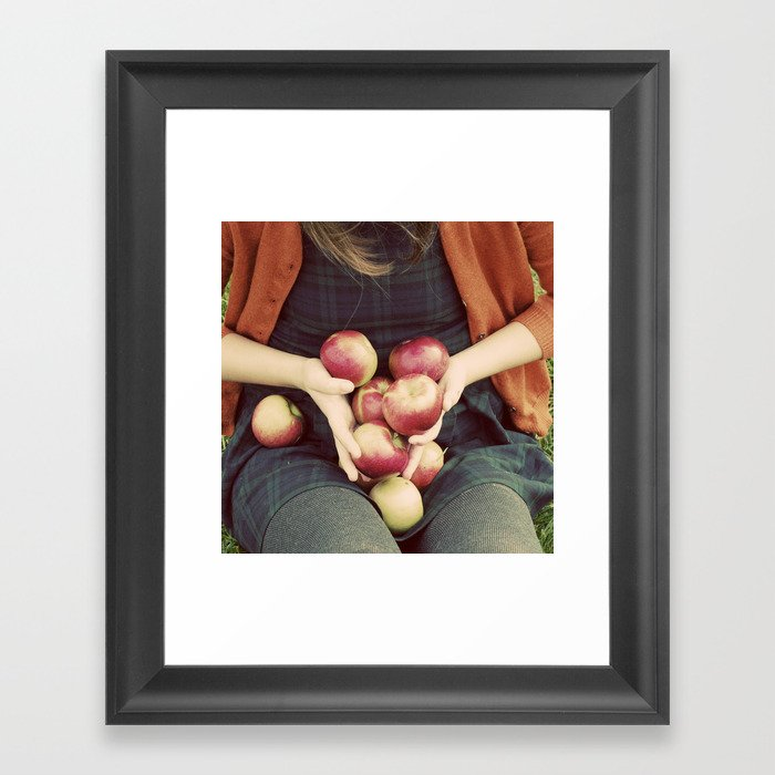 Autumn Bounty Framed Art Print