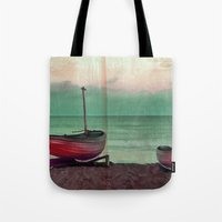 sailboat Tote Bags featuring Sailboat by Regan's World