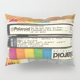 VHS & Wooden Wall Pillow Sham