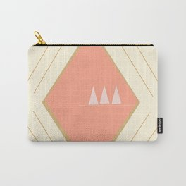 Pastel Aztec Shapes Carry-All Pouch