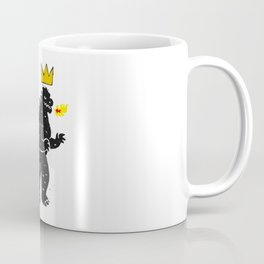 Jean-Michel Basquiat's Crown on Japanese Monster Coffee Mug