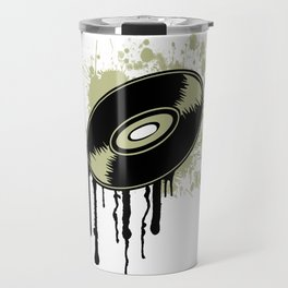 Vinyl Splatter Travel Mug