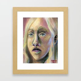 A Colorless Youth Framed Art Print