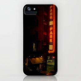 Late Night Park - New York City iPhone Case
