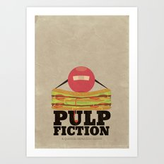 Pulp Fiction - Minimal Poster Art Print