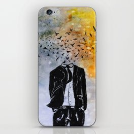 Man-Birds iPhone Skin