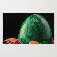 easter Area & Throw Rugs featuring Easter by Karl-Heinz Lüpke