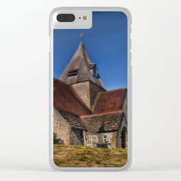 St Margaret Ditchling Clear iPhone Case