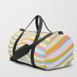 wave abstract art artistic Duffle Bag