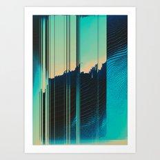 Ripped Apart Art Print