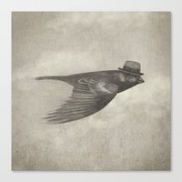 soul Canvas Prints featuring Old Soul  by Terry Fan