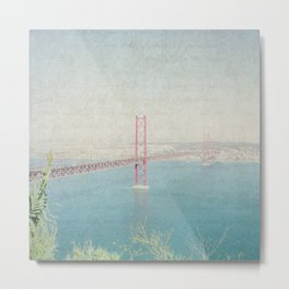 Letters From Lisbon Metal Print