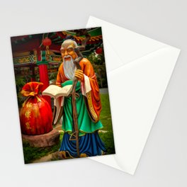 Yue Lao Statue Stationery Cards