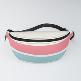 2 Stripes Pink Mint Fanny Pack