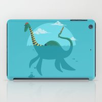 """earthbound iPad Cases featuring Loch""""Ness"""" Monster by Michael B. Myers Jr."""