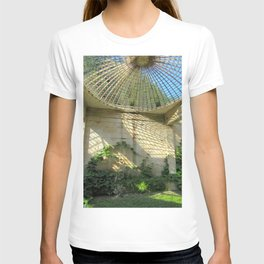 Nature Reclaiming Old Structure T-shirt