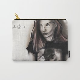 RGD Girl Portrait | Raven Angelov Carry-All Pouch
