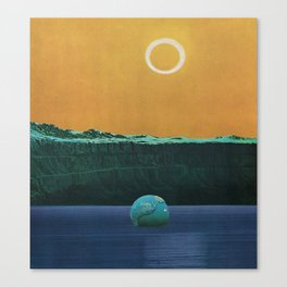 The Drowned World Canvas Print