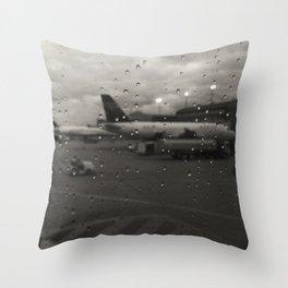 Flight One Throw Pillow