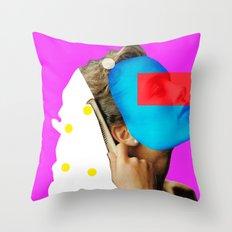 Crazy Woman · Madame Goldhaar 2 Throw Pillow