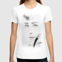 audrey hepburn T-shirts featuring Audrey Hepburn by Farinaz K.