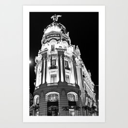 Metropolis - Madrid Art Print