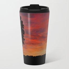 Gorgeous sunset in LOVE Travel Mug