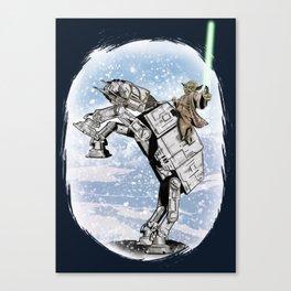 Yoda Visits Hoth  Canvas Print