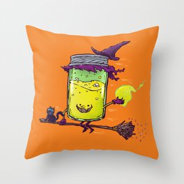 The Witch Jam Throw Pillow