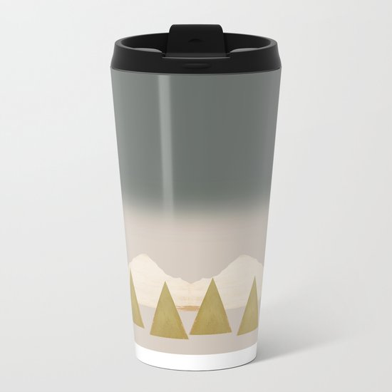 Divided Metal Travel Mug
