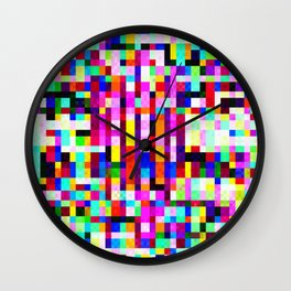 Free in the Grid Wall Clock