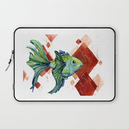 Gold fish Laptop Sleeve
