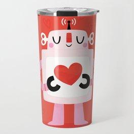 Love Robot Travel Mug