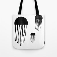 medusa Tote Bags featuring Medusa by Kristijan D.