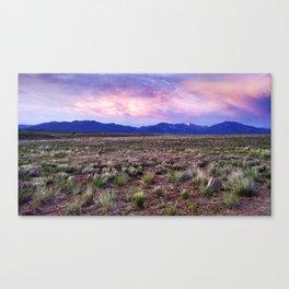 Desert Sky Canvas Print