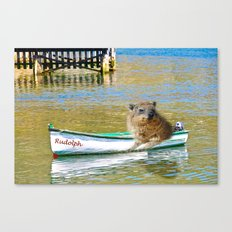 Rudolph at Sea Canvas Print