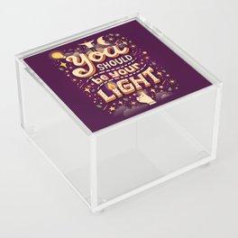 Promise Acrylic Box