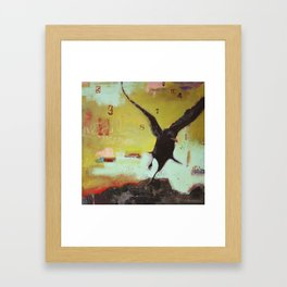 Listen to the Crows 3 Framed Art Print
