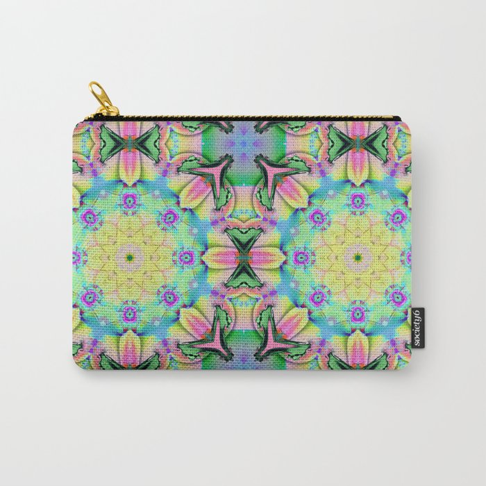 Summer feelings, colourful kaleidoscope design Carry-All Pouch