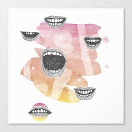 mouths Canvas Print