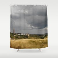 russian Shower Curtains featuring Russian nature. by Mikhail Zhirnov