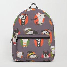 Halloween llama Backpack