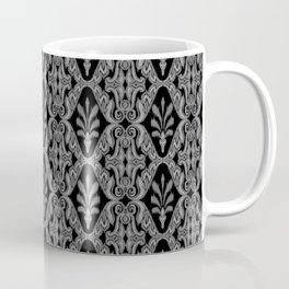 Gray Ikat Coffee Mug
