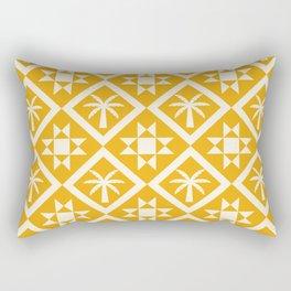 Bohemian Geometric Pattern 03B Rectangular Pillow