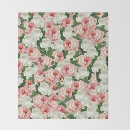 Juliet -  Romantic Roses Throw Blanket