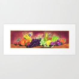 NATURA VIVA-  living nature Art Print