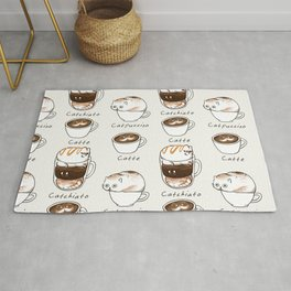 Coffee Right Meow Rug