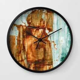 Ocean Days Wall Clock