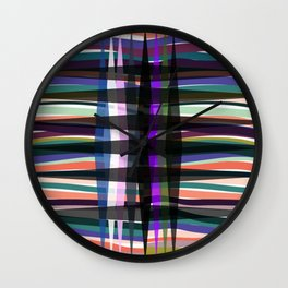Graphic cor Wall Clock
