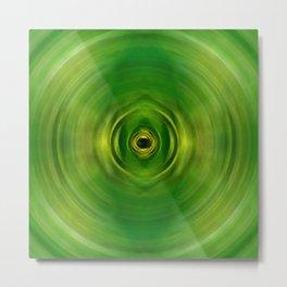 New Growth - Green Art By Sharon Cummings Metal Print